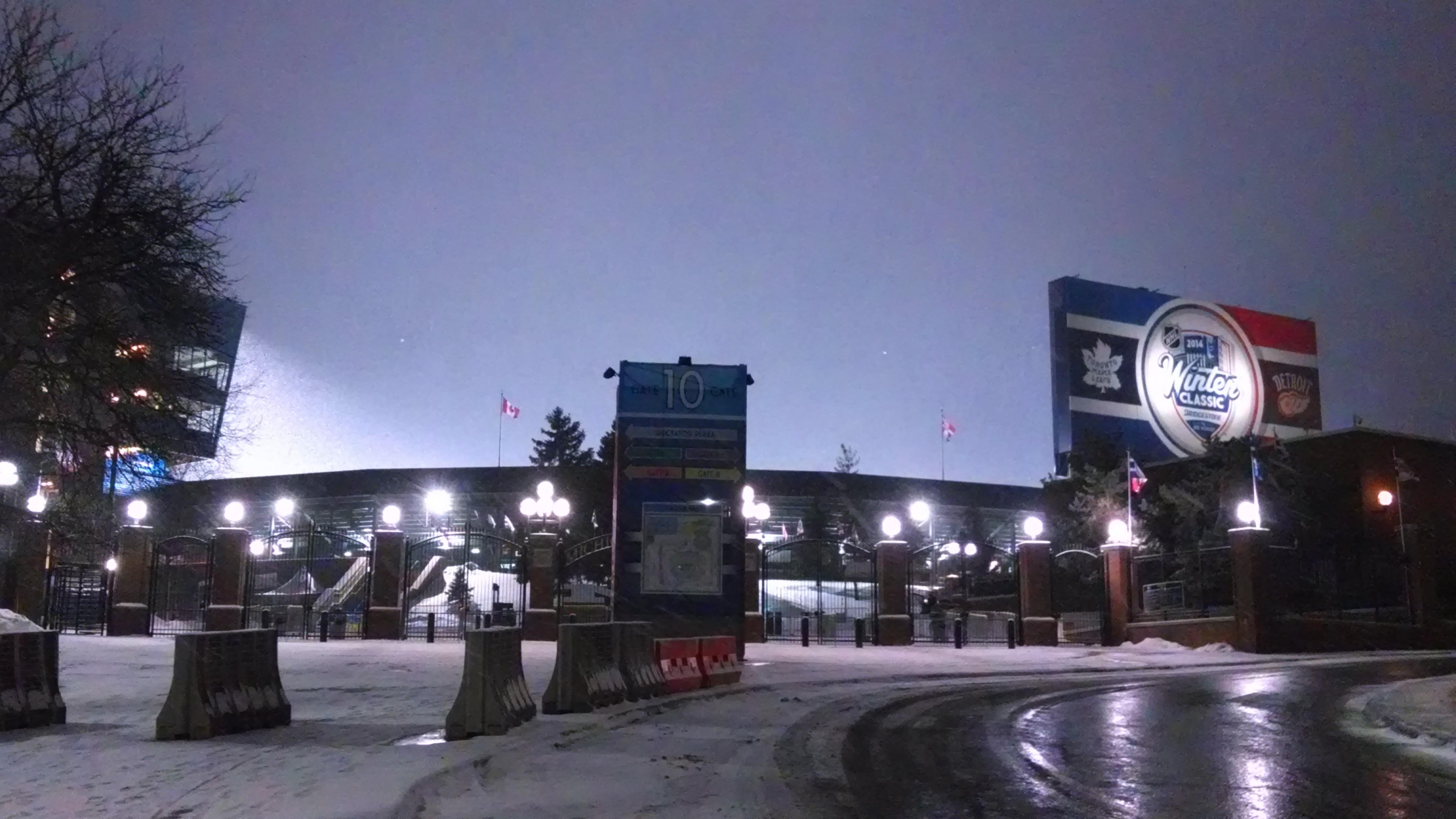 Winter Classic at Michigan Stadium