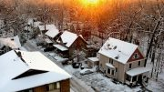 Winter in Ann Arbor photograph