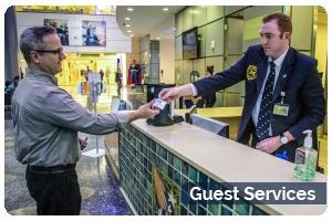 Guest Services Button