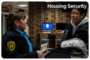 Housing Security Button