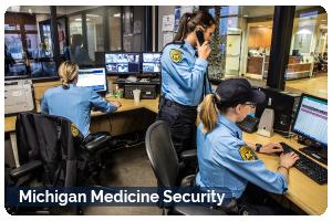 Michigan Medicine Security Button