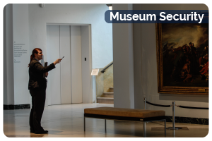 Museum Security Button