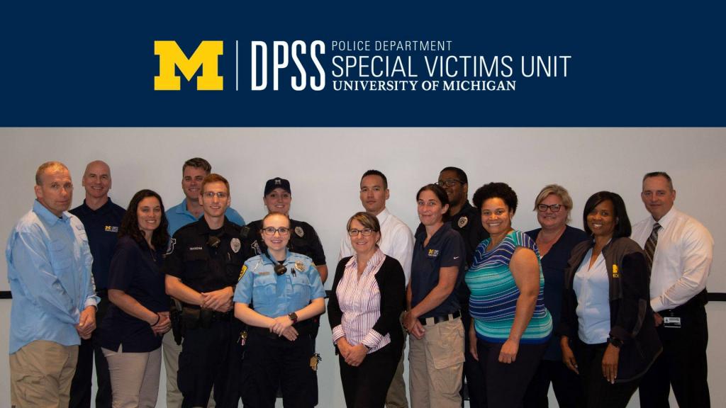 DPSS Police Department SVU team