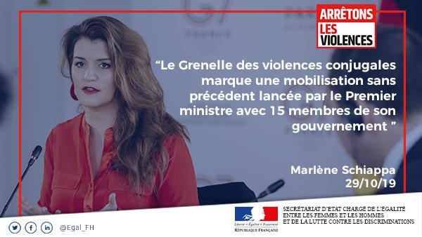 Grenelle contre les violences conjugales, une mobilisation sans précédent