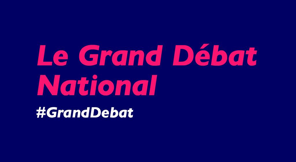 #GrandDebat