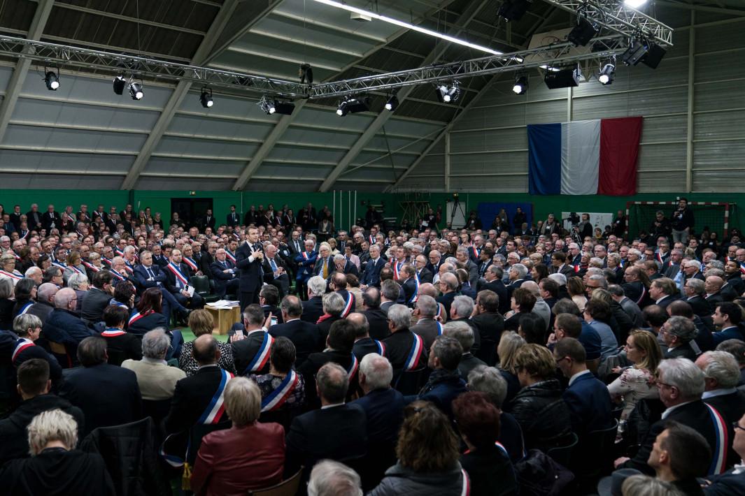 Grand Débat avec les maires de Normandie