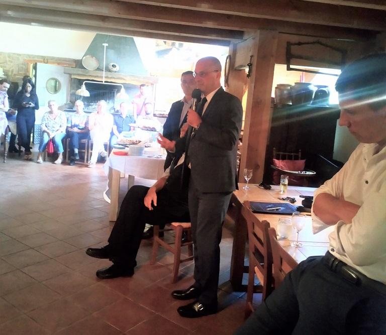 Jean-Michel BLANQUER, Ministre de l'Education Nationale rencontre les adhérents ariégeois de La République En Marche
