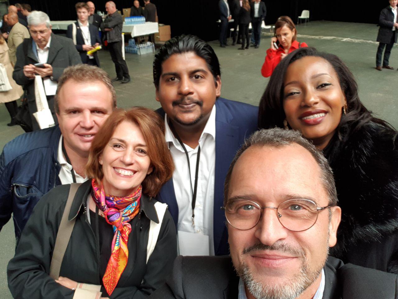 Rencontre avec les référents des îles au 2e  Conseil National du 21 octobre qui s'est tenu à Paris :  Guadeloupe, Martinique, Mayotte, Saint Martin, Saint Barthélémy, La Réunion…...