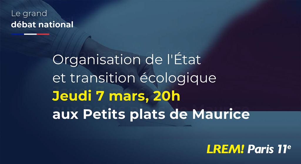 Grand débat National Paris 11