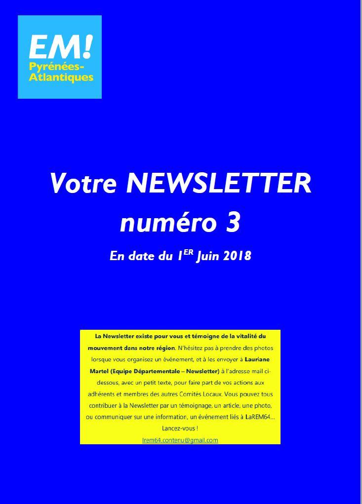 Votre Newsletter #3