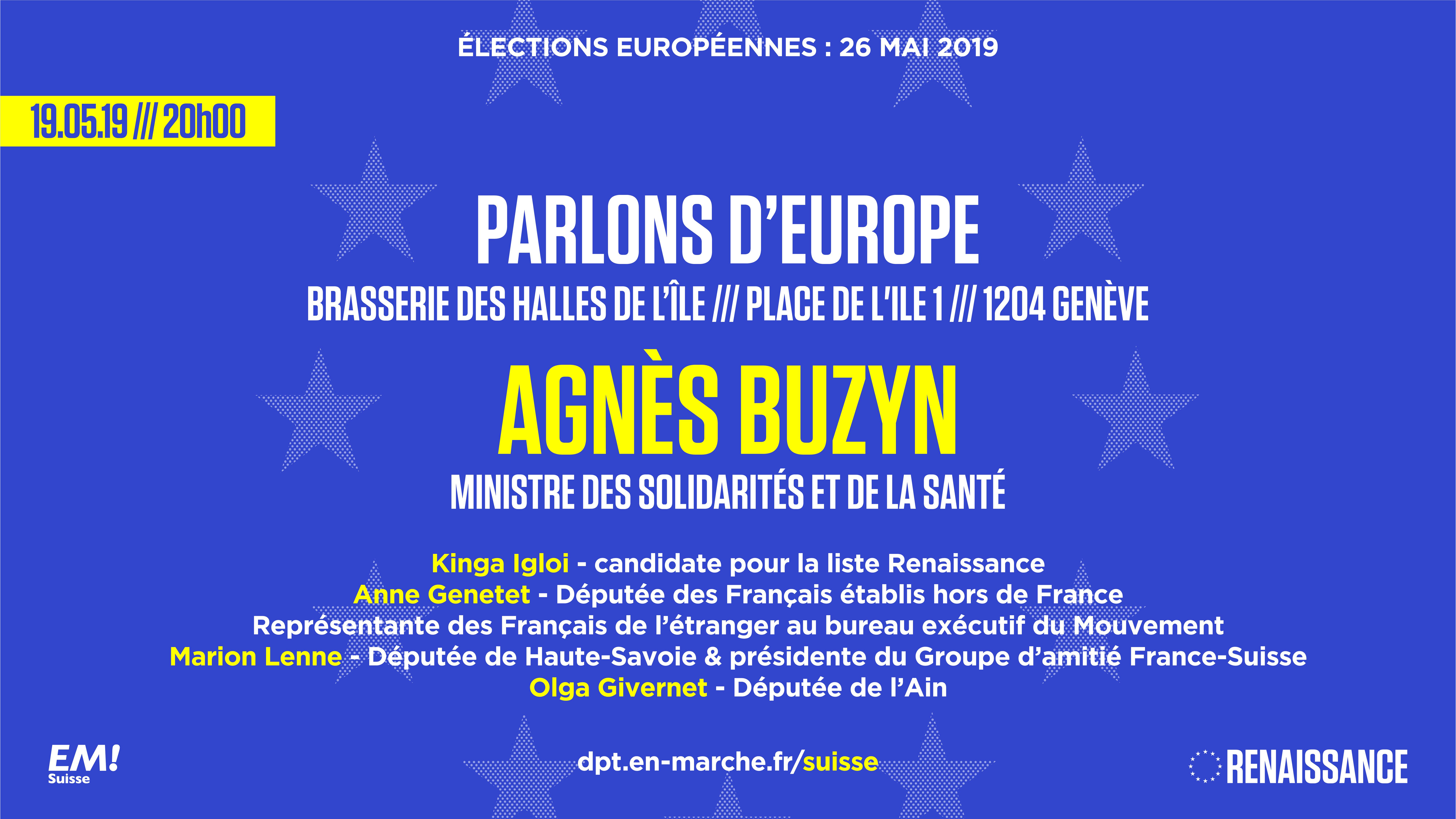 19.05.19 - Rencontre européenne avec Agnès Buzyn