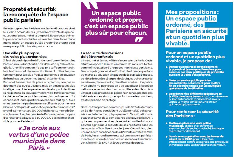 Benjamin GRIVEAUX veut reconquérir l'espace public.