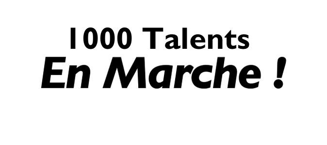 Engagez vous avec 1000 Talents !