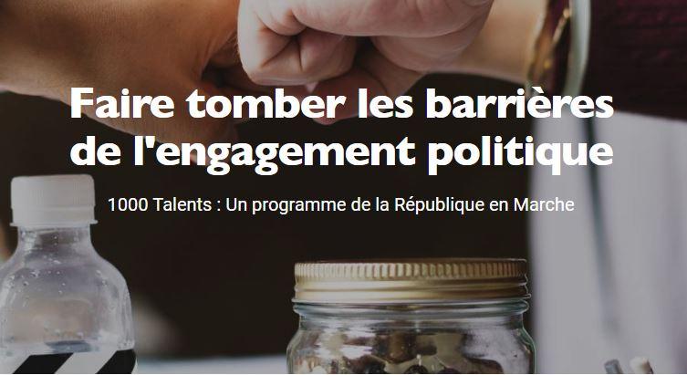 """Programme """"1000 Talents"""""""