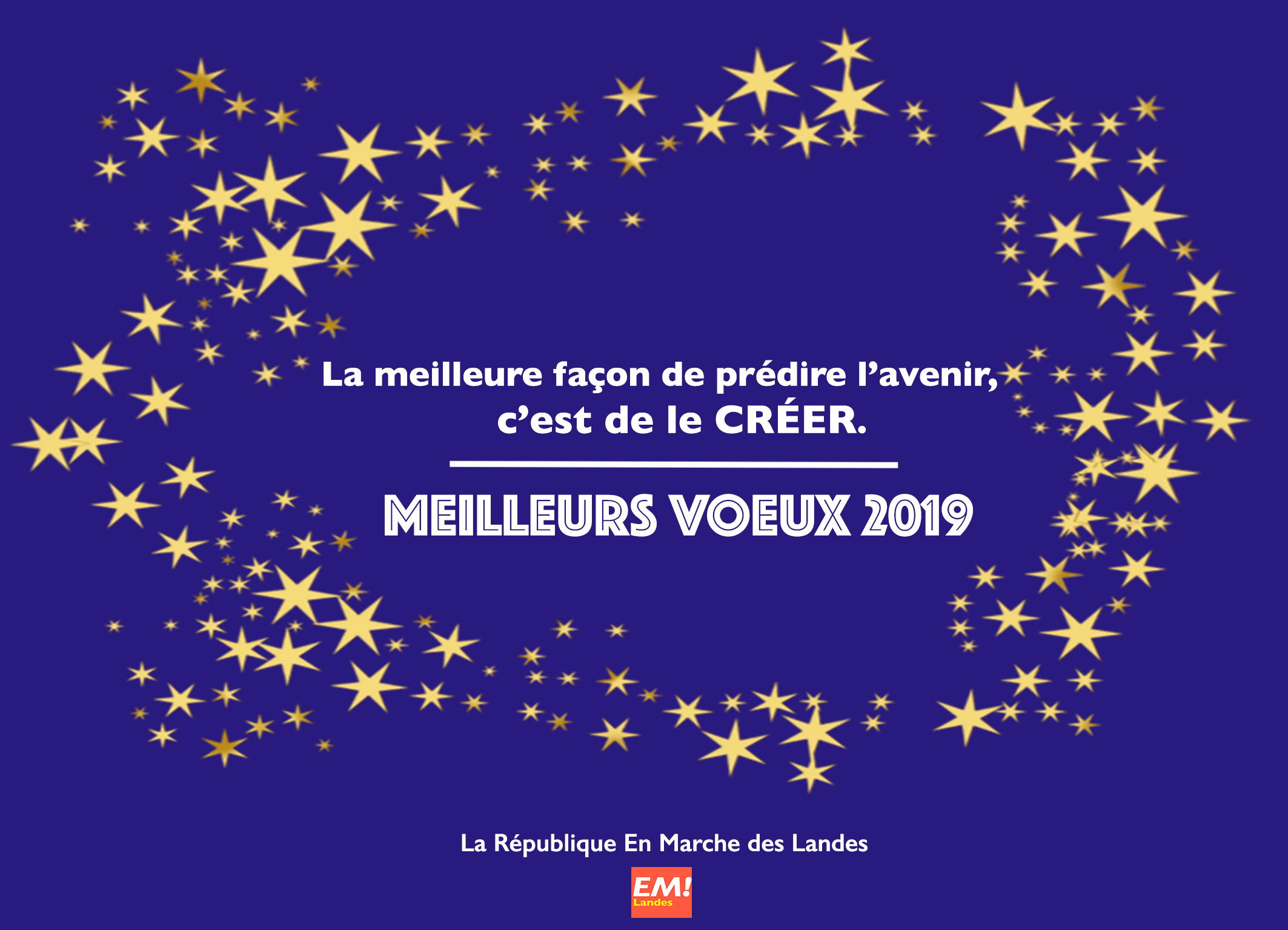 Voeux 2019- La République En Marche Landes