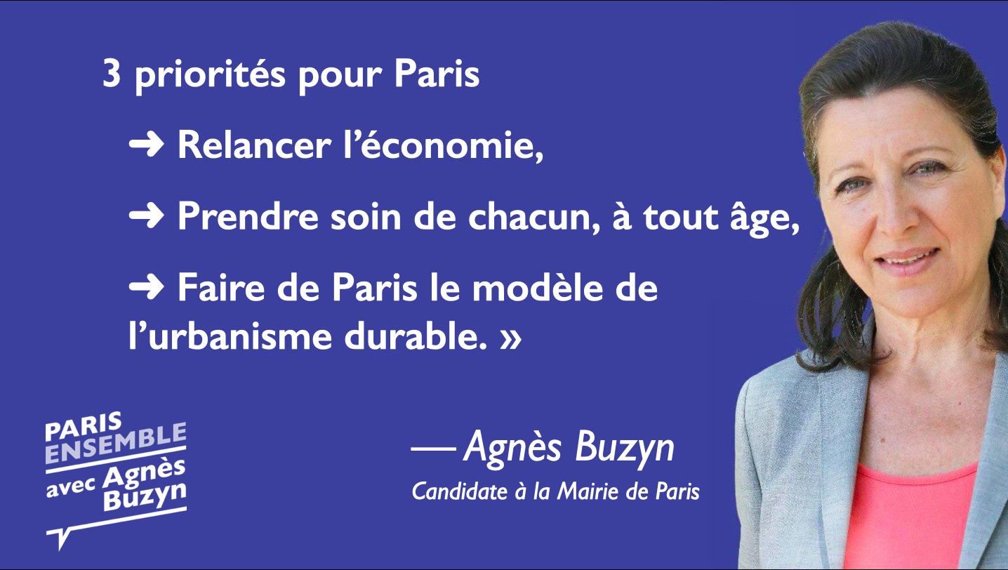 Les priorités et propositions d'Agnès Buzyn pour Paris.
