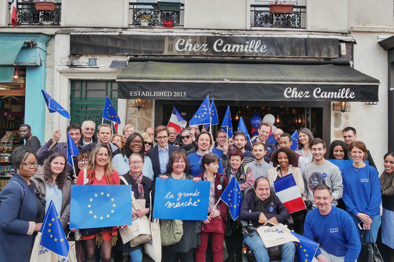 La Grande Marche pour l'Europe dans le 12ème