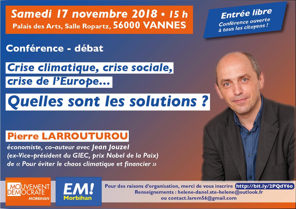 Crise climatique, crise sociale, crise de l'Europe... QUELLES SONT LES SOLUTIONS ?
