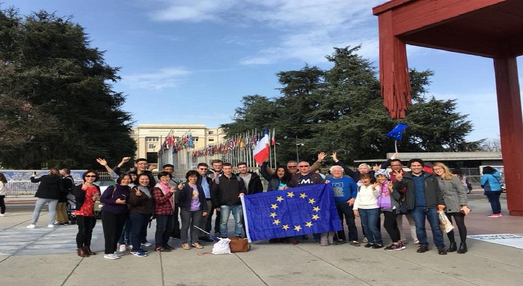 Lancement de la Grande Marche pour l'Europe