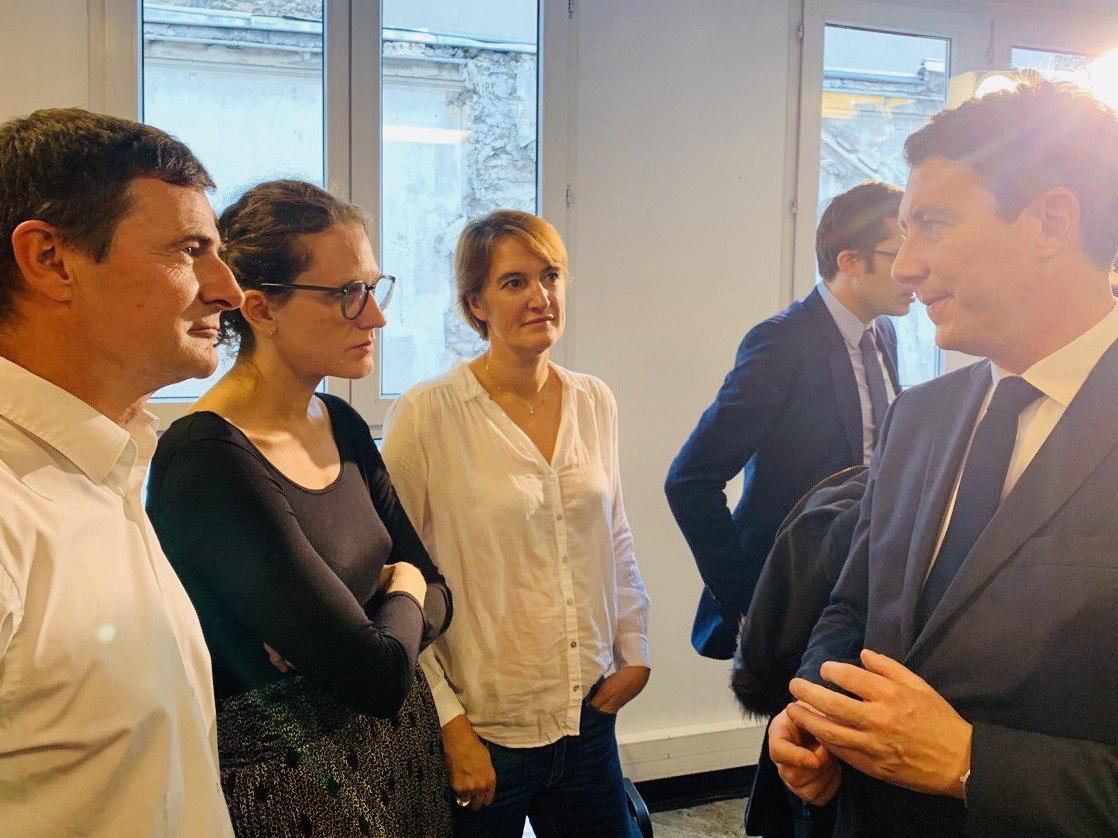 Les Premiers candidats investis à Paris Centre se présentent