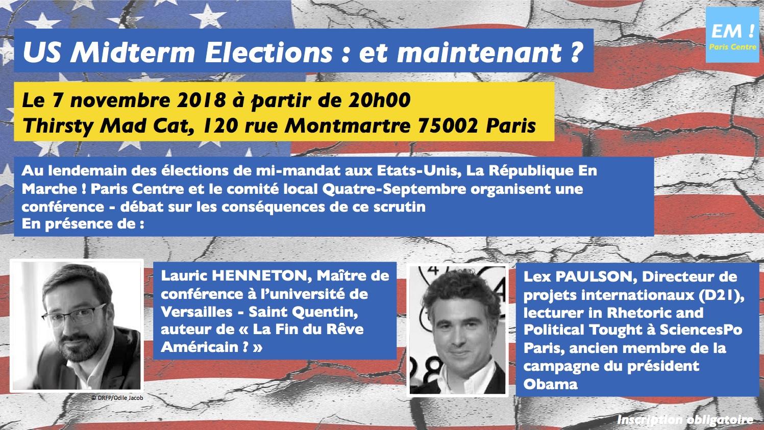 US Midterm Elections : et maintenant ?