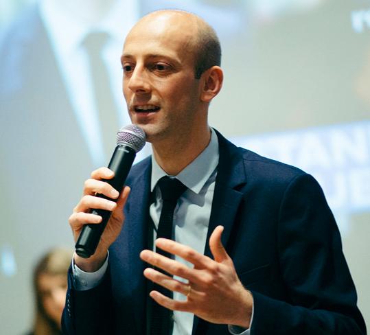 Rencontrez Stanislas Guerini, député LaREM de la 3ème circonscription de Paris (Paris 17 et Paris 18).