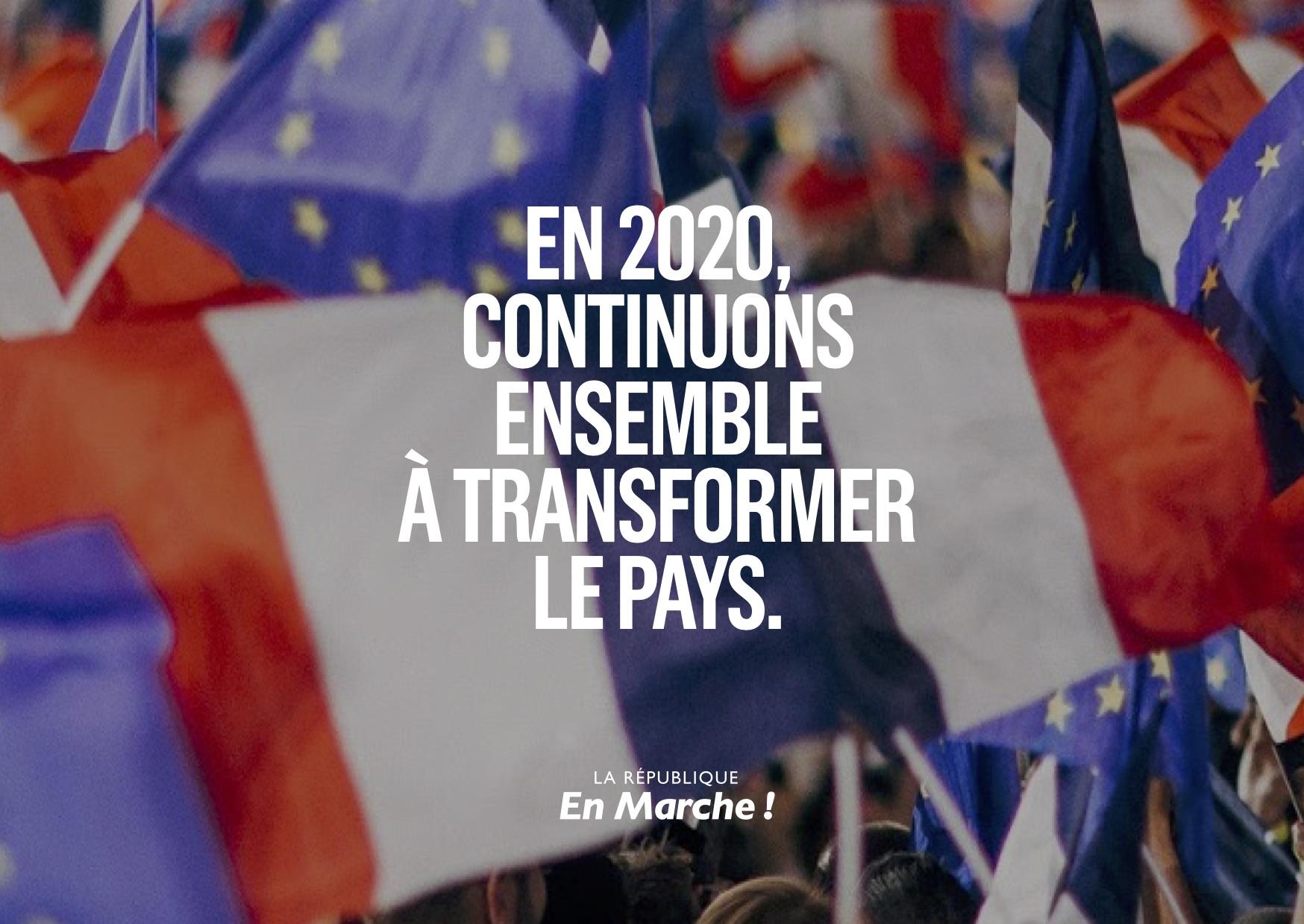 [VOEUX] Pour 2020, continuons à transformer le pays ! Retour sur les fruits de la politique menée en 2019.