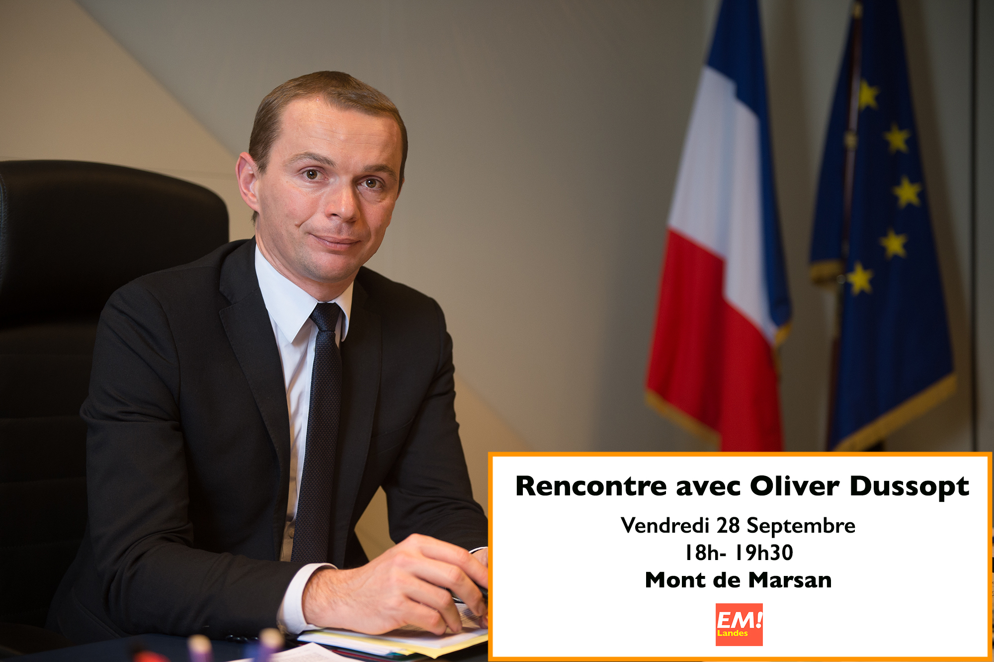 Rencontre avec Olivier Dussopt
