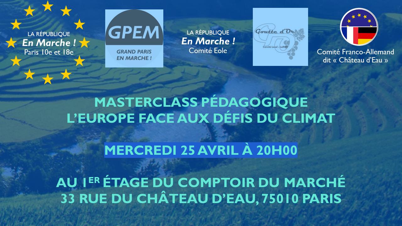 L'Europe face aux défis du climat