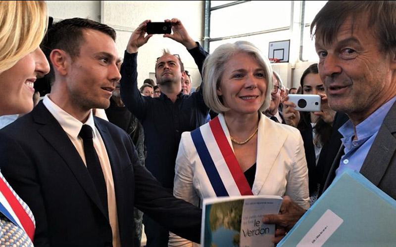 Notre Ministre Nicolas Hulot rencontre les Varois