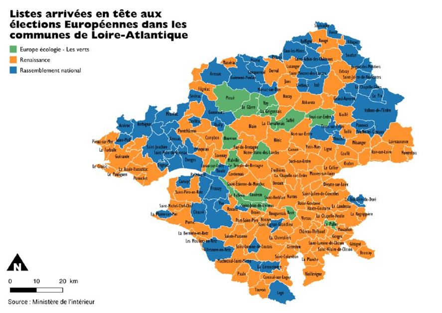 Large victoire de la liste Renaissance en Loire-Atlantique !