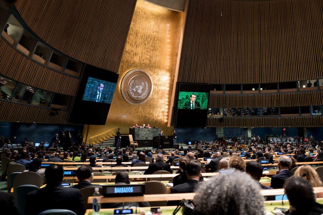 74e assemblée générale des Nations Unies, à New York : Make France and our Planet great again!