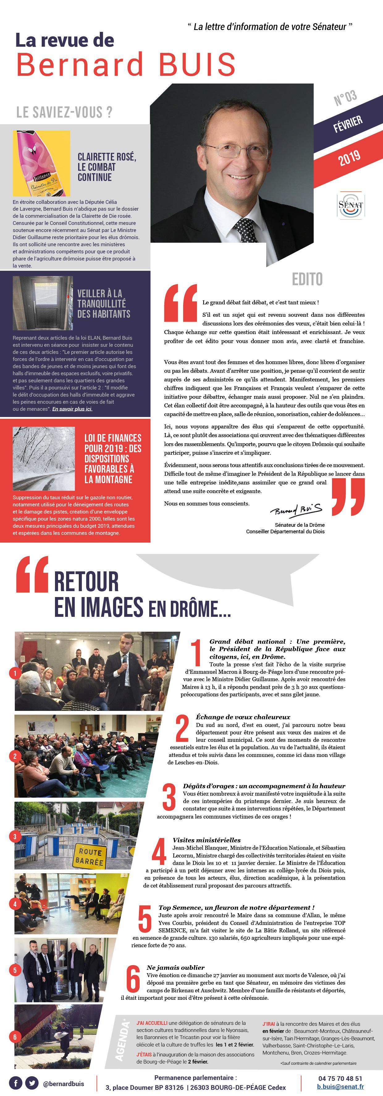 Bernard Buis Sénateur de La Drôme