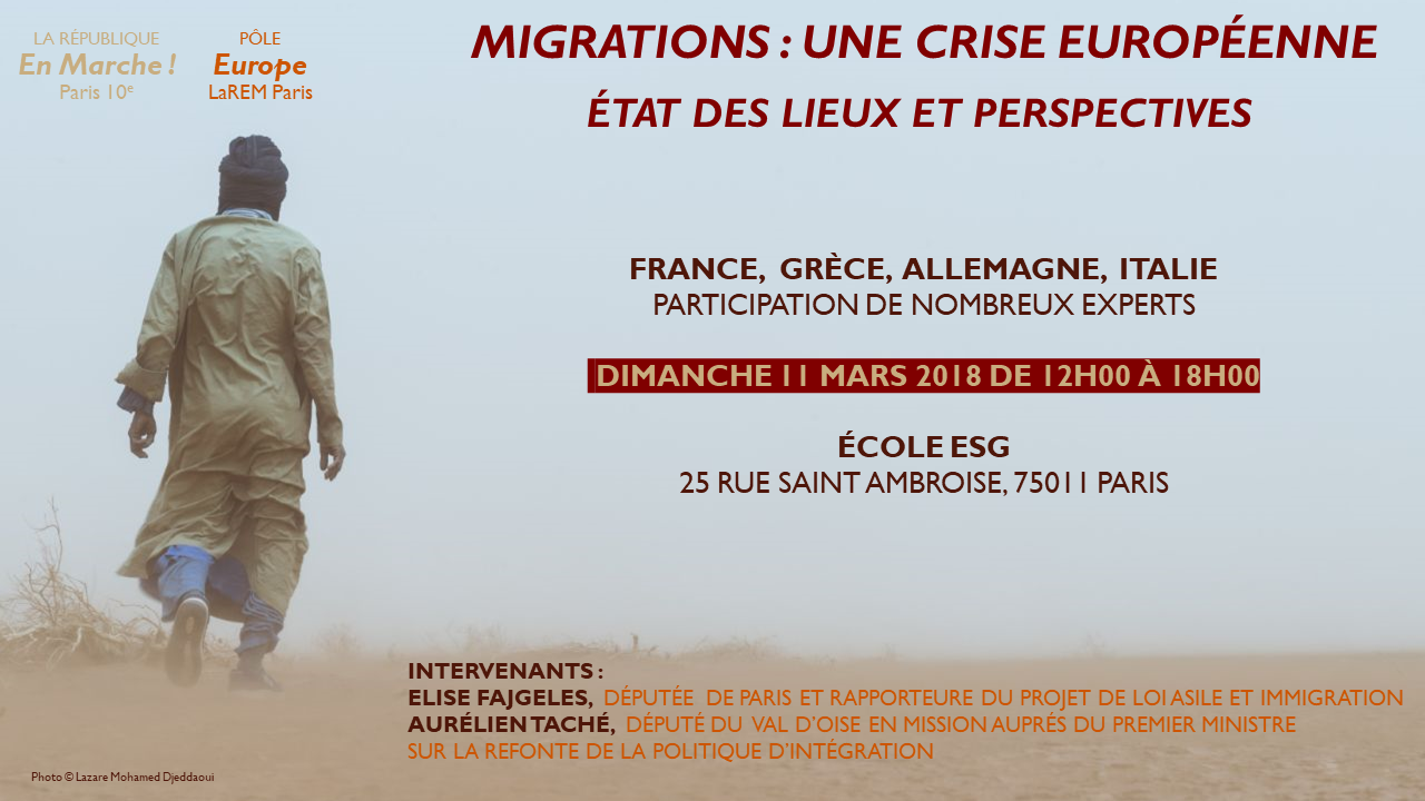 Migrations : une crise européenne