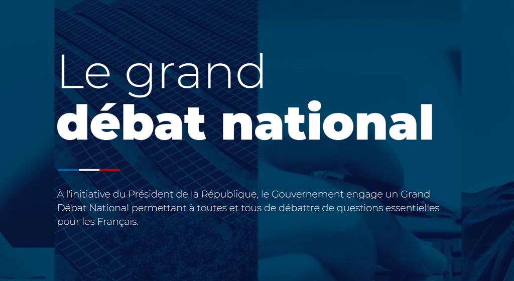 LE GRAND DÉBAT NATIONAL : MODE D'EMPLOI