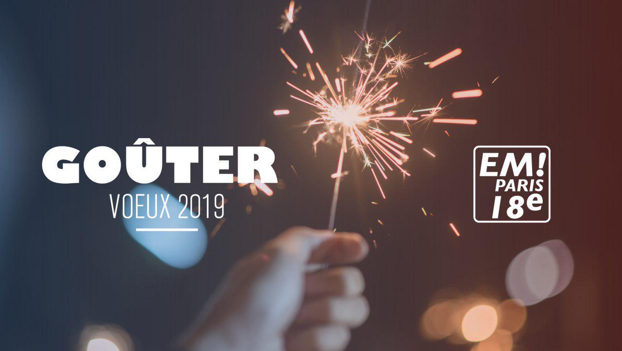 Voeux 2019 • Pour un collectif fort, grâce aux convictions et à l'engagement de chacun au service de tous.