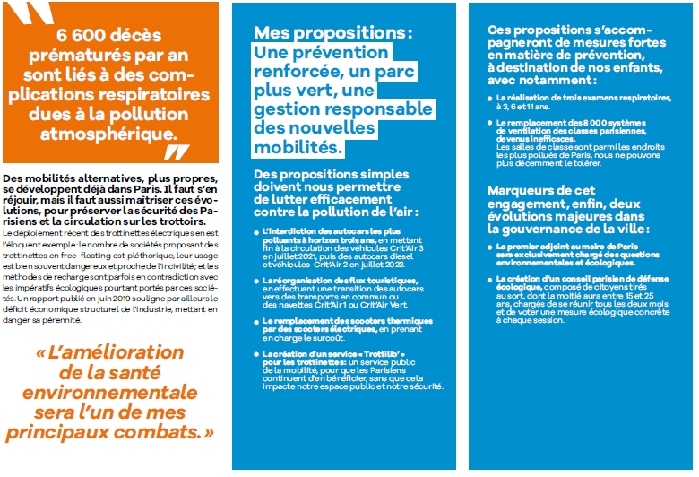 PARIS 2020 : L'écologie au coeur des mobilités