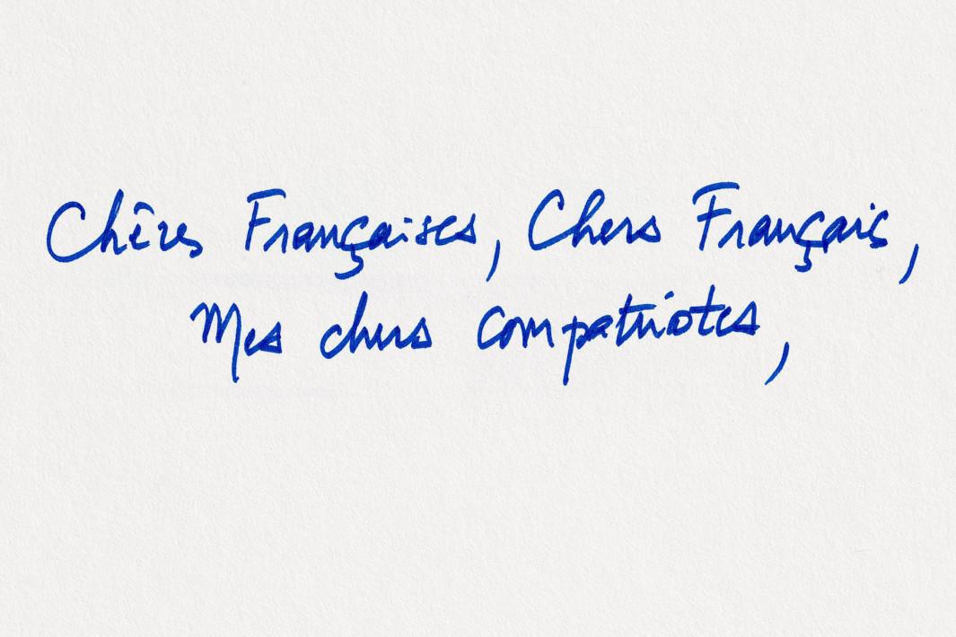 la lettre aux Français : E Macron