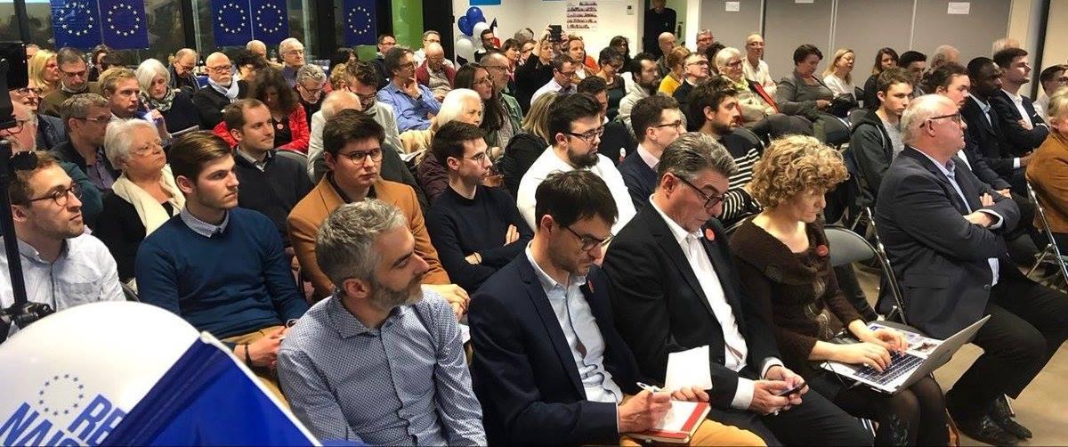 Réunion de mobilisation pour la campagne des européennes !
