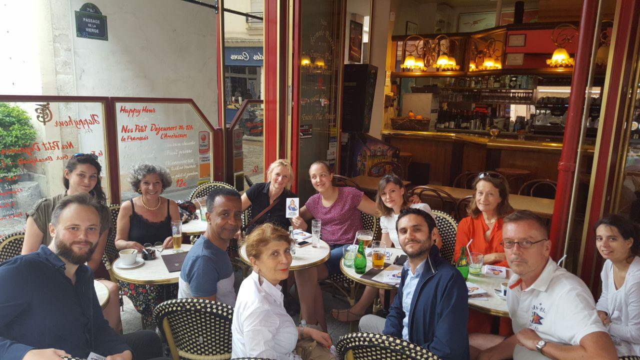 Dernière réunion avant la rentrée pour notre équipe LAREM Paris 7