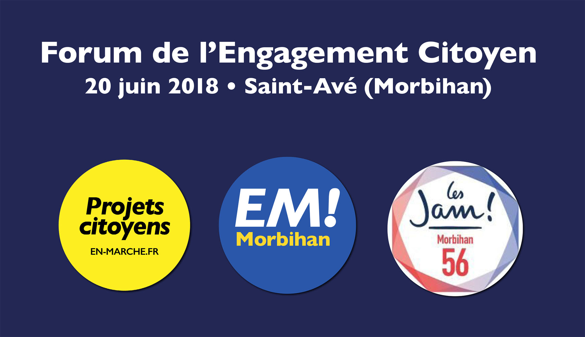 Forum départemental de l'Engagement Citoyen à St-Avé