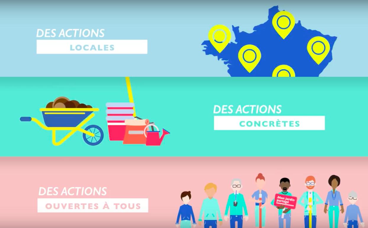 Quartiers Propres & Un stage pour Tous : 2 projets citoyens menés dans le 18e arrondissement de Paris