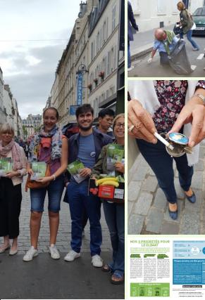 L'équipe LAREM PARIS VII engagée pour le WorldCleanUp DAY 2019