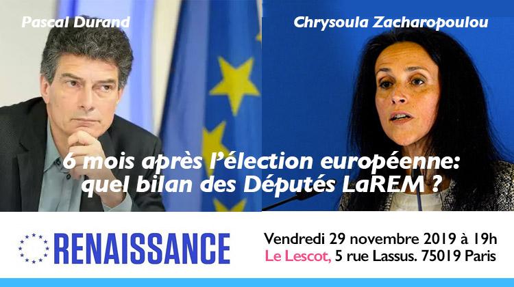 6 mois après l'élection européennes– témoignage de deux députés européens