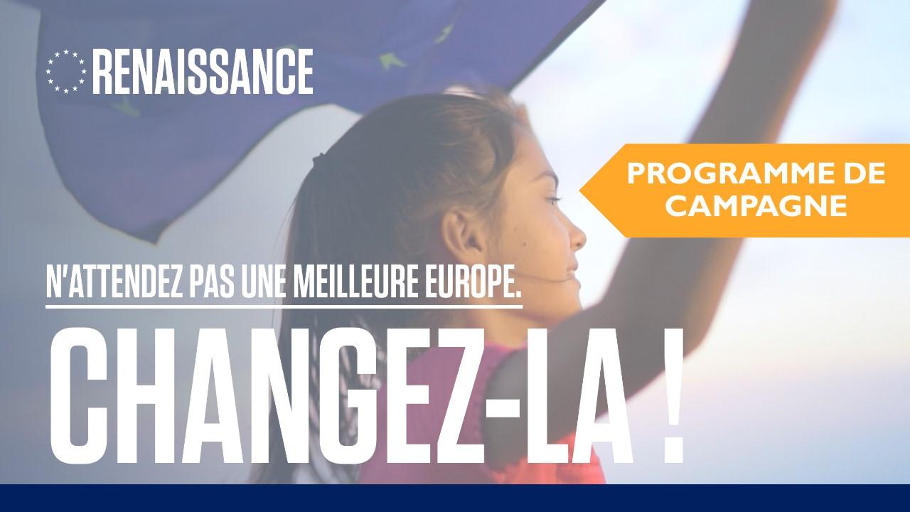 Découvrez le programme de Campagne pour les européennes en Belgique