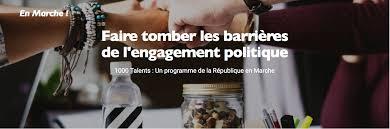 La République En Marche lance en Savoie le programme 1000 Talents.