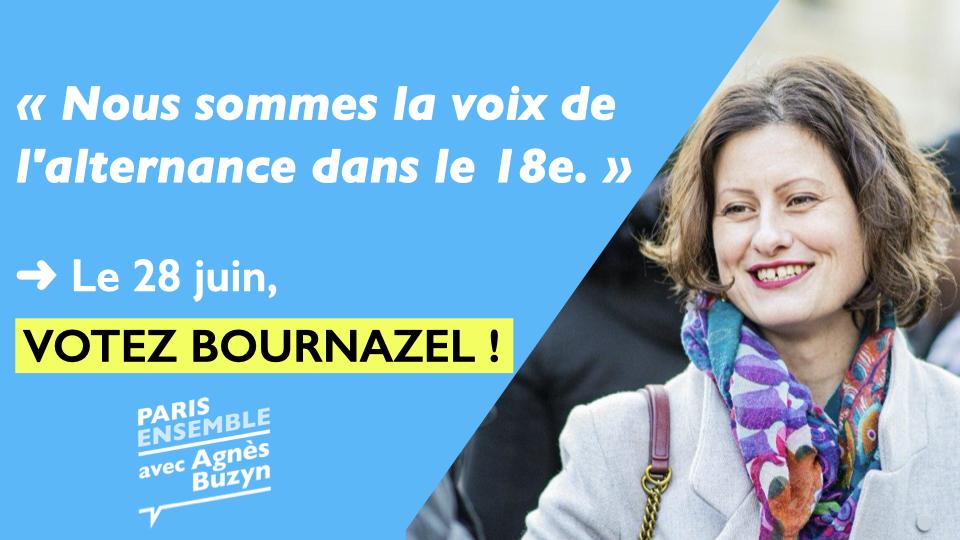 Municipales : Nous sommes la voix de l'alternance dans le 18e.| Lettre de Justine HENRY, référente En Marche ! Paris 18