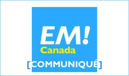 [Communiqué] La République En Marche Canada fait peau neuve et lance son site web!