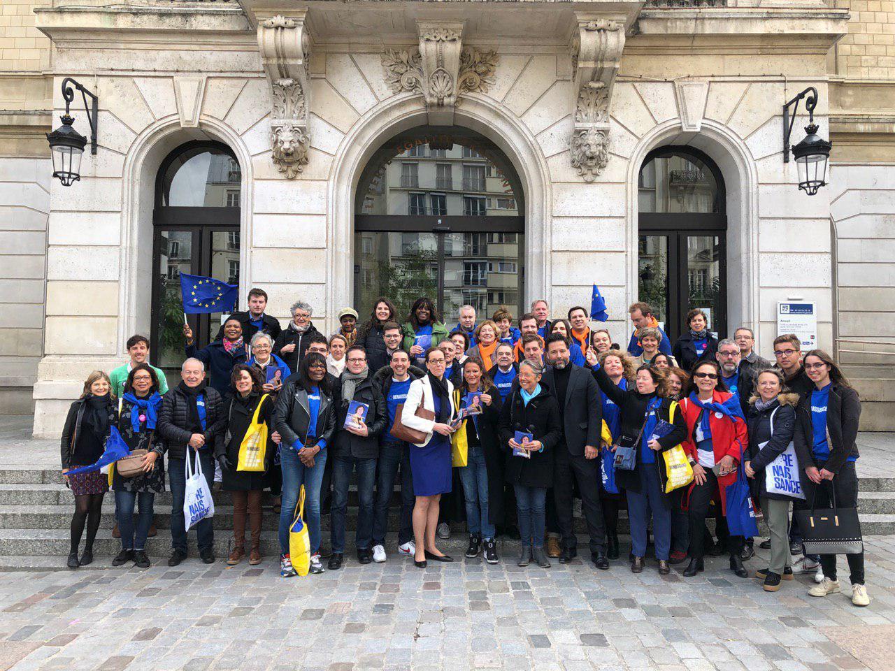 La lettre officielle de La République en Marche du XVe arrondissement de Paris