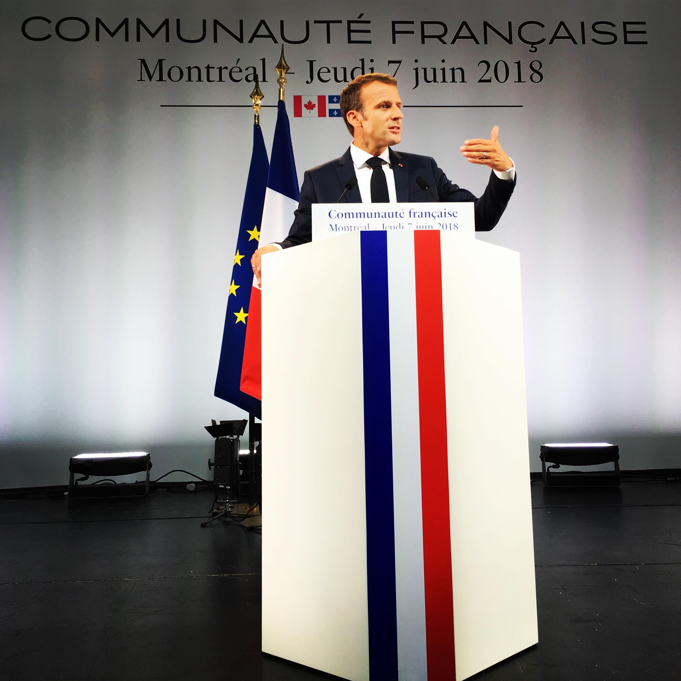 [Communiqué] Venue au Canada du président de la République française